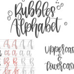 Hand Lettering Practice Sheets | Modern Calligraphy Guide