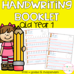 Handwriting Booklets - Qld Year 1
