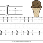 Handwriting For Preschoolers: I Is For Ice Cream