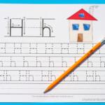 Handwriting Practice For Preschool: Letter H