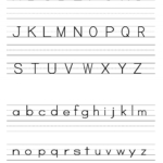 Handwriting Worksheet Maker Kindergarten | Printable