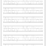 How To Make A Handwriting Worksheet - Babbling Abby