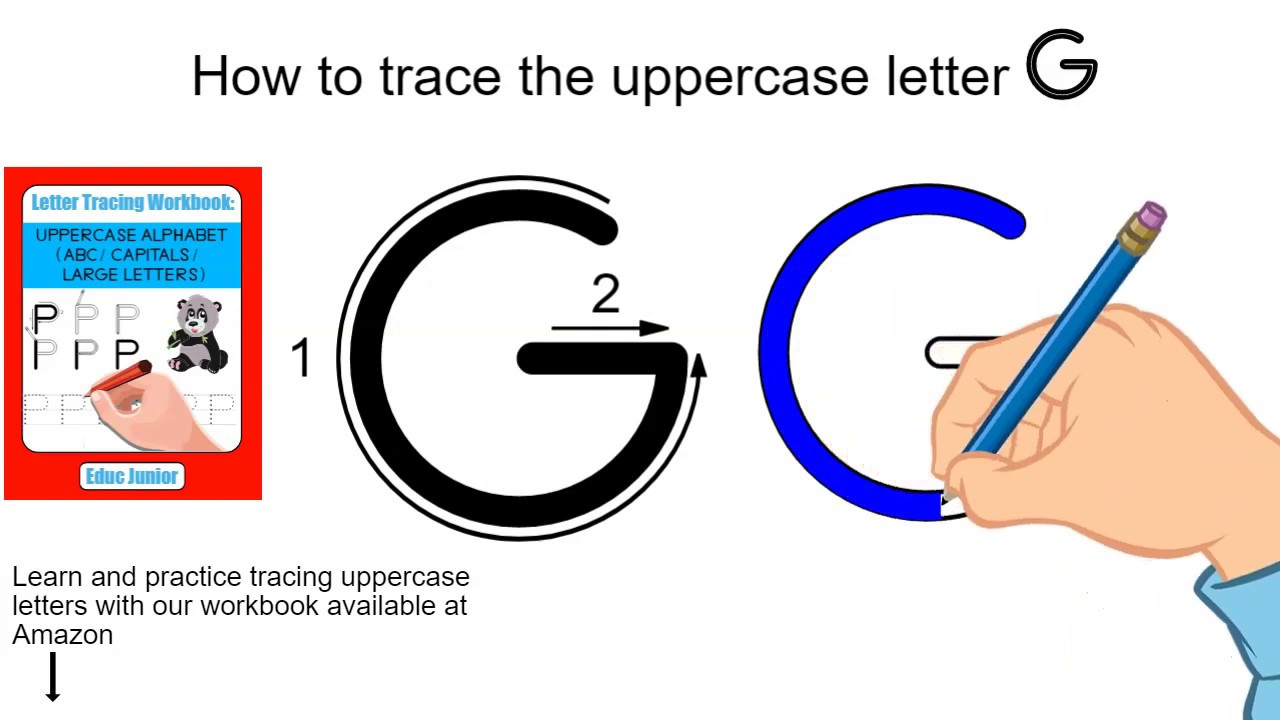 How To Trace The Uppercase Letter G