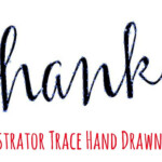 Illustrator - Trace Hand Written Text - Get A Perfect Trace Every Time