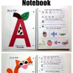 Interactive Alphabet Notebook | Preschool Learning, Letter A