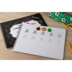 Juvale Letter Tracing Book - 2-Pack Dry Erase Letter Tracing