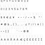 Kg Miss Kindergarten Font | Dafont