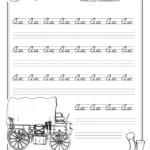 Kidzone Cursive Writing Worksheet | Printable Worksheets And