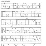 Kindergarten Tracing Worksheets Shape Tracing Worksheets For