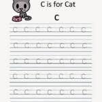 Kindergarten Worksheets: Alphabet Tracing Worksheets - C