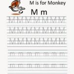 Kindergarten Worksheets: Printable Tracing Worksheet