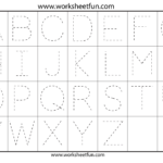 Kindergarten Worksheets Tracing Letters T. Teaching How To
