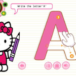 Kitty Cat - Tracing Alphabets And Numbers For Android - Apk