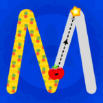 Learn To Trace Letters With Abc For Kids - Alphabet & Number Tracing Games  For Kids