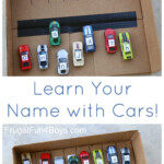 Learn Your Name With Hot Wheels Cars | Toddler Learning