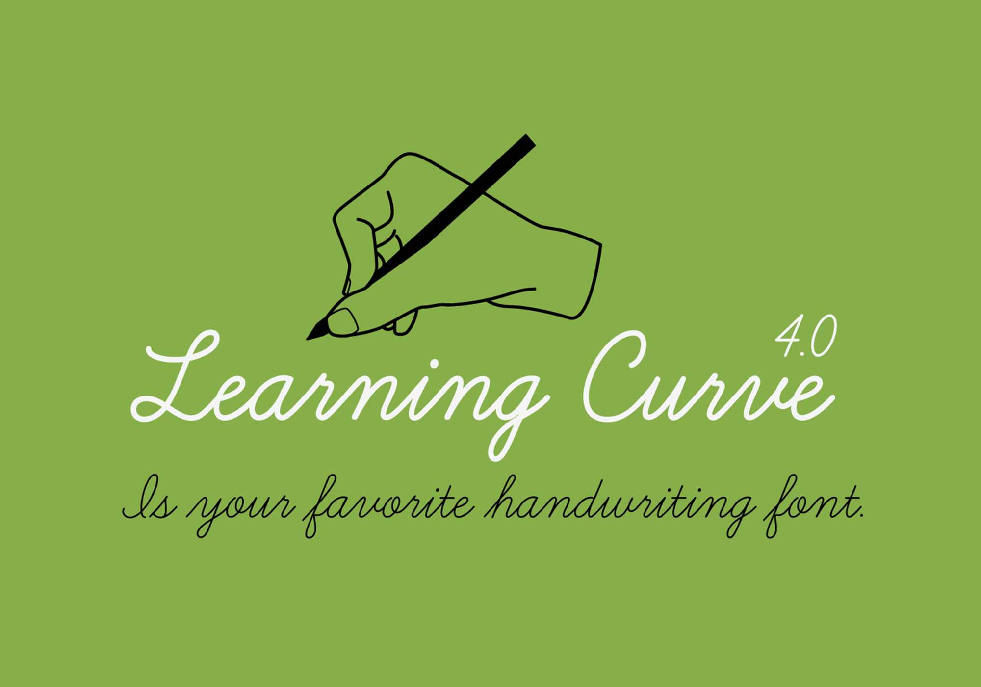 Learning Curve Free Font