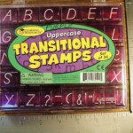 Learning Resources Uppercase Transitional Stamps Set Of 34