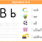 Letter B Tracing Worksheet | Free Printable Puzzle Games