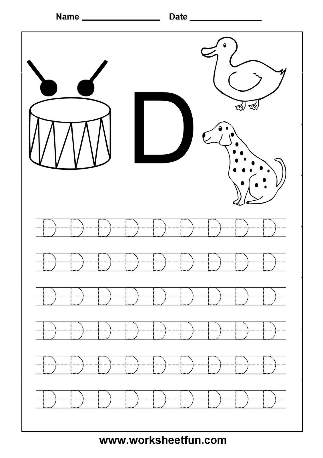 Letter D Worksheets Hd Wallpapers Download Free Letter D