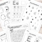 Letter E Worksheets - Alphabet Series - Easy Peasy Learners