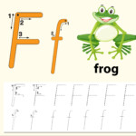 Letter F Tracing Alphabet Worksheets - Download Free Vectors