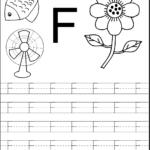 Letter F Worksheets For Preschool Kindergarten Prin Koogra