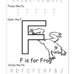 Letter F Worksheets For Preschool Worksheets For All