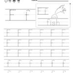 Letter F Writing Practice Worksheet - Free Kindergarten