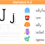 Letter J Tracing Worksheet | Free Printable Puzzle Games