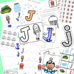 Letter J Worksheets + Activities - Fun With Mama
