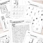 Letter J Worksheets - Alphabet Series - Easy Peasy Learners