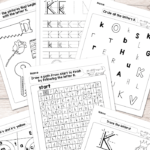 Letter K Worksheets - Alphabet Series - Easy Peasy Learners