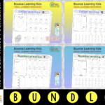Letter & Number Writing Practice (Nsw Foundation)