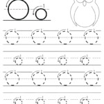 Letter O Worksheets For Preschool Letter O Worksheet Letter