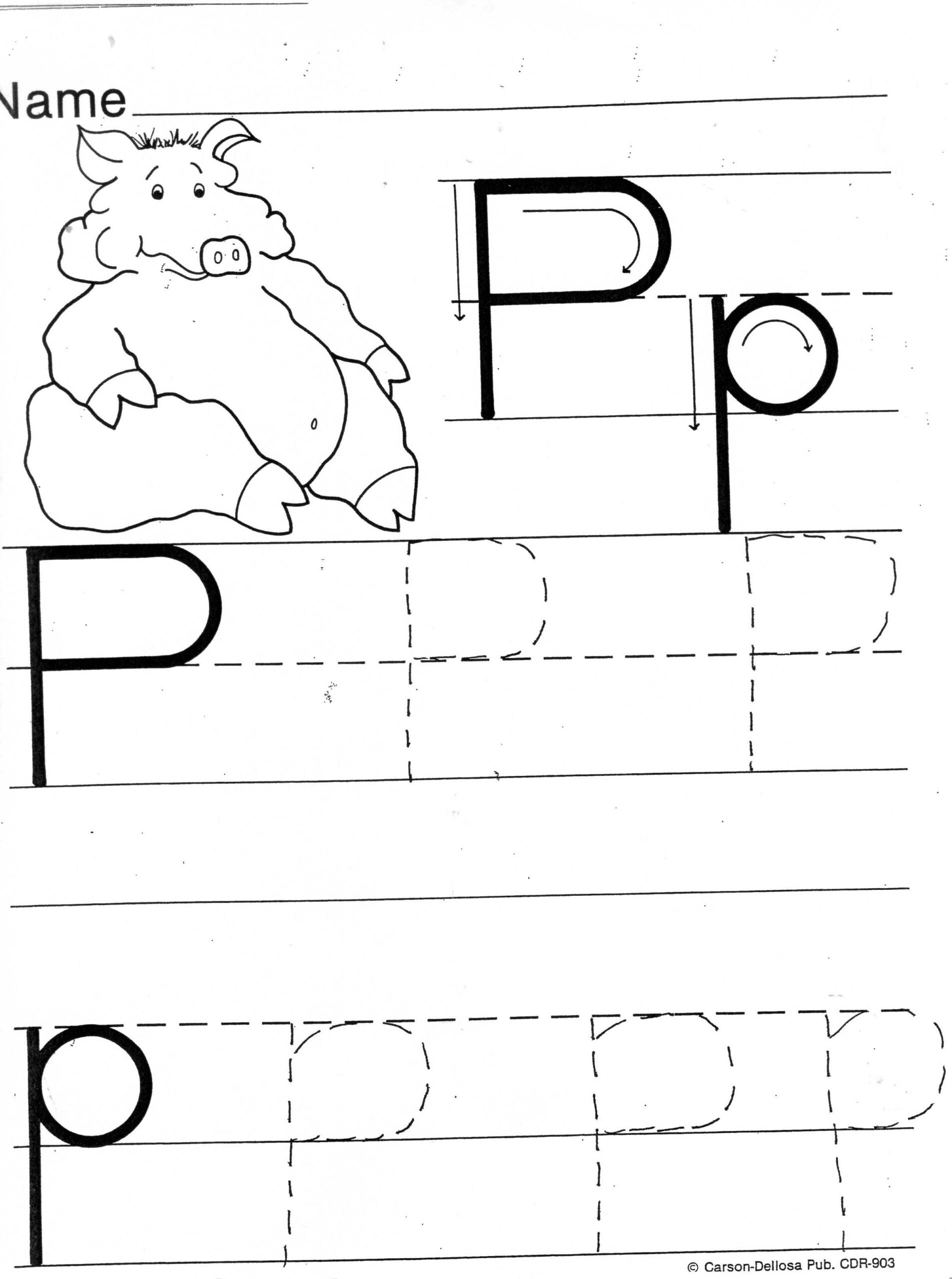 Letter P Handwriting Worksheet لم يسبق له مثيل الصور + Tier3.xyz