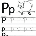 Letter P Preschool Worksheets Kindergarten Worksheets