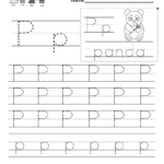 Letter P Writing Practice Worksheet - Free Kindergarten