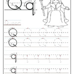 Letter Q Worksheets For Kindergarten – Lifestyletravels.club