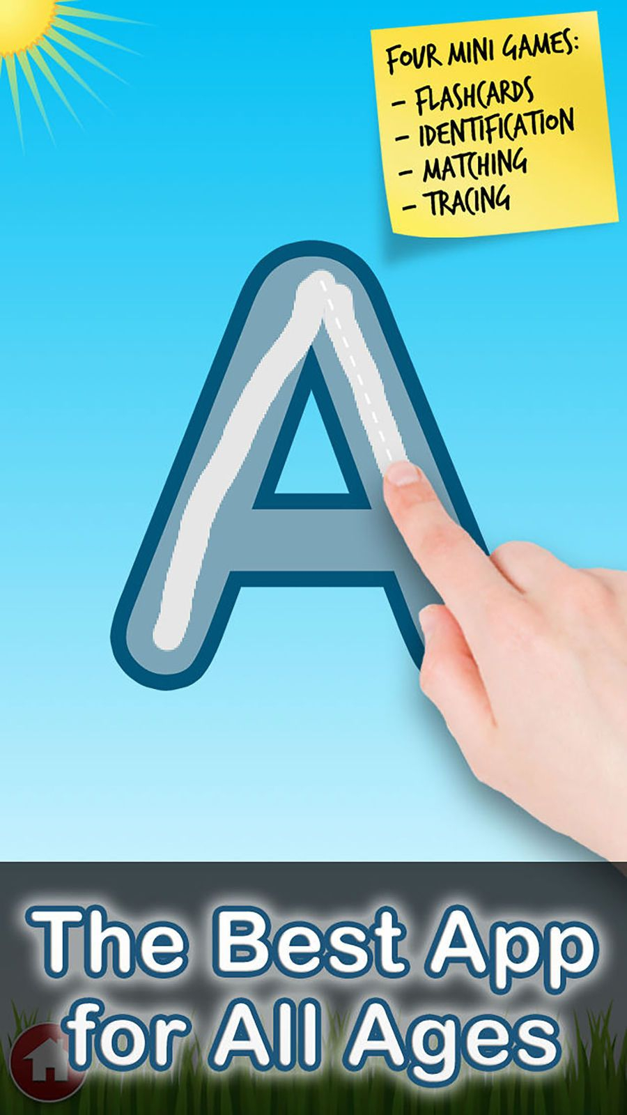 Letter Quiz Lite: Abc Tracing #apps#tantrum#games#family