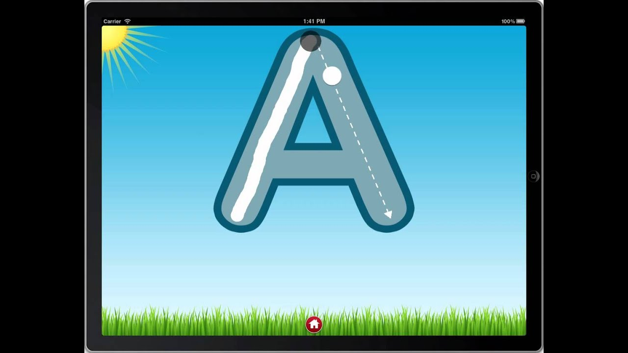 Letter Quiz Preview - Letter Tracing