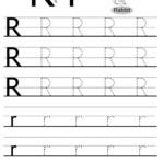 Letter R Preschool Printable Worksheets - Clover Hatunisi
