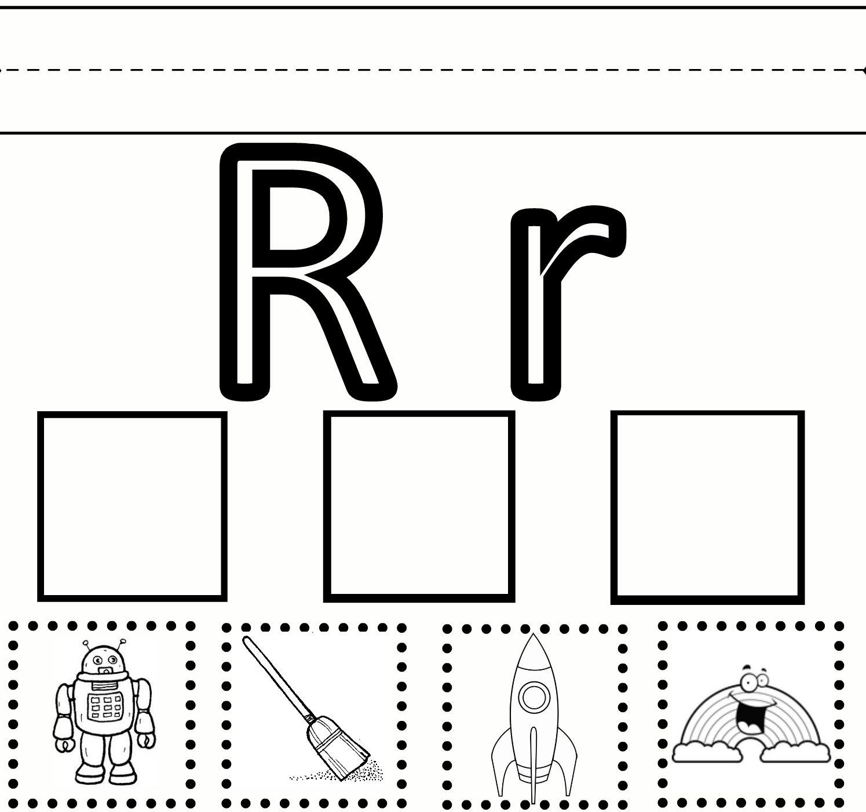 Letter R Preschool Worksheets | Preschool Learning – Letter