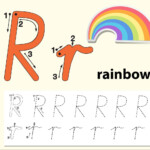 Letter R Tracing Alphabet Worksheets - Download Free Vectors