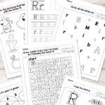 Letter R Worksheets - Alphabet Series - Easy Peasy Learners