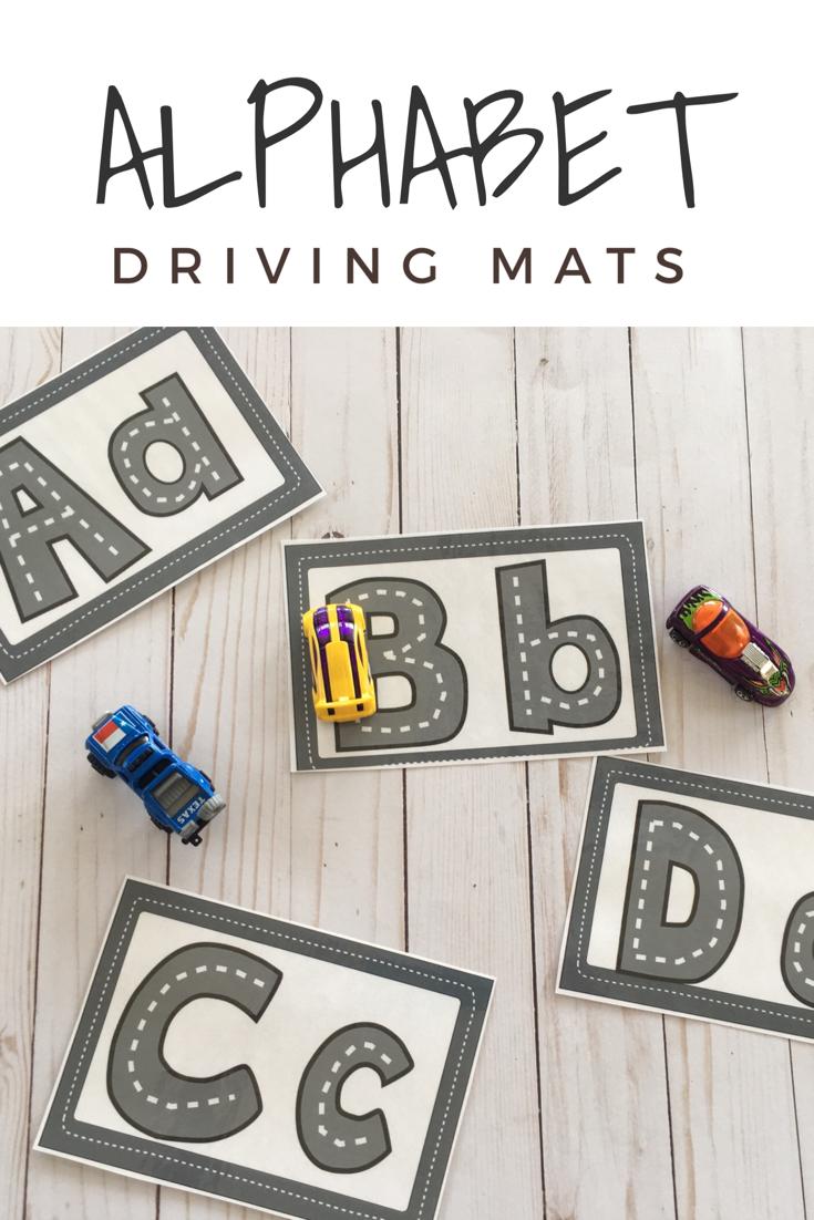 Letter Roads | Alphabet Preschool, Alphabet Activities