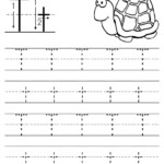 Letter T Worksheet For Preschool - Clover Hatunisi