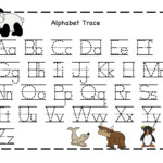 Letter Tracing Preschool Worksheet - Clover Hatunisi