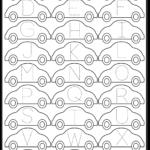 Letter Tracing Worksheet – Car / Free Printable Worksheets