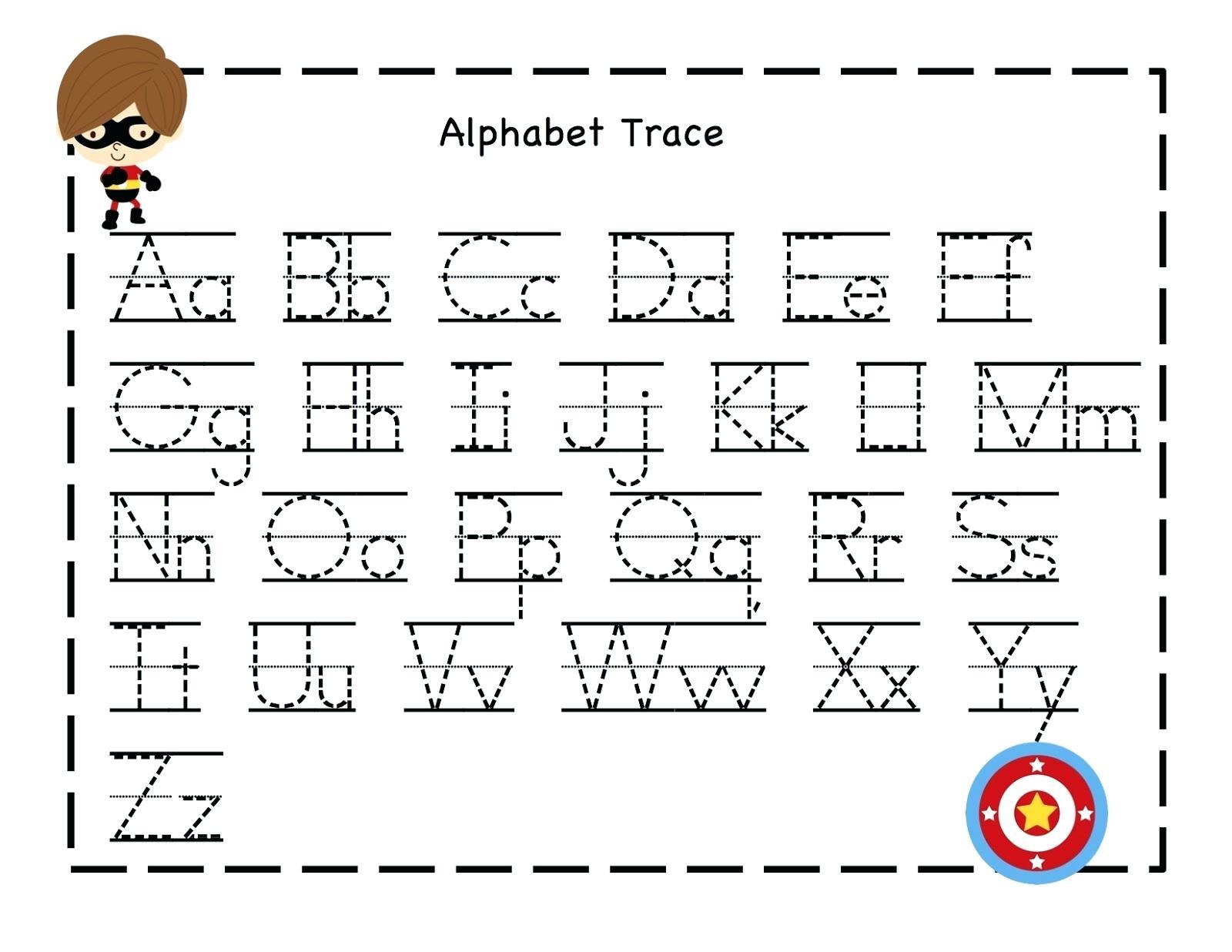 Letter Writing Practice Preschool Alphabet Writing Practice