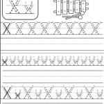 Letter X Worksheet | Kindergarten Abc Worksheets, Alphabet
